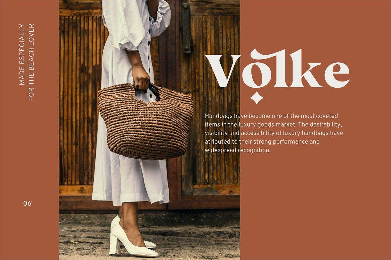 现代极简复古品牌Logo杂志海报标题设计衬线英文字体素材 Vicky Regular – Modern Vintage Typeface插图3