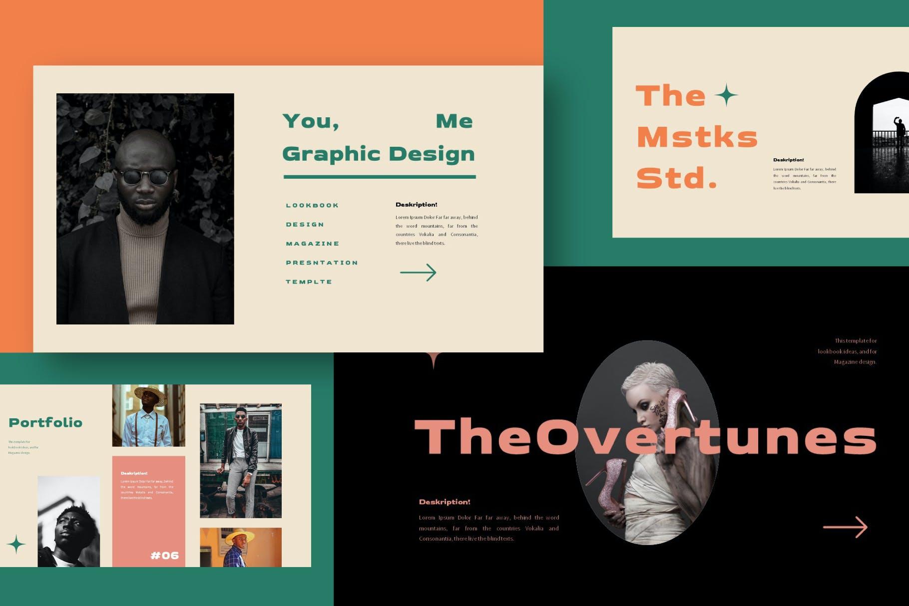 优雅品牌策划提案简报演示文稿设计PPT模版 Mistakes Powerpoint Template插图8