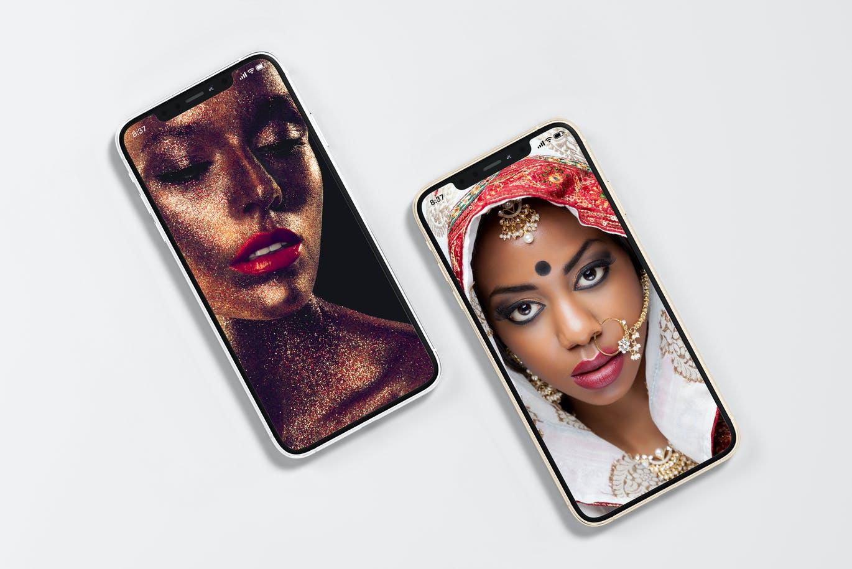 8款逼真APP界面设计iPhone 11 Pro屏幕演示样机模板 iPhone 11pro Mock-up插图8