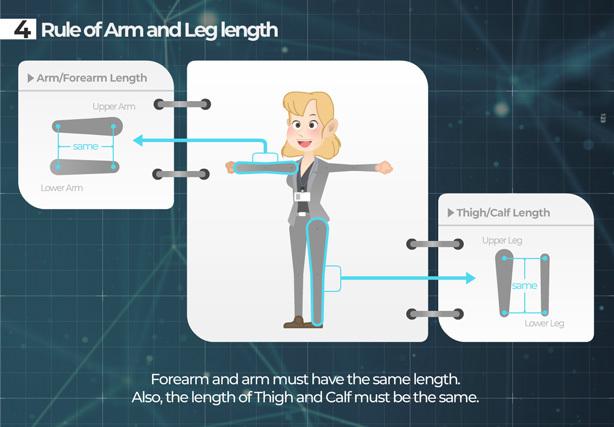 [单独购买] 潮流自定义卡通二维MG人物角色骨骼绑定Duik映射动作动画AE视频模板素材 Character Rigging Mock Up Animations插图9