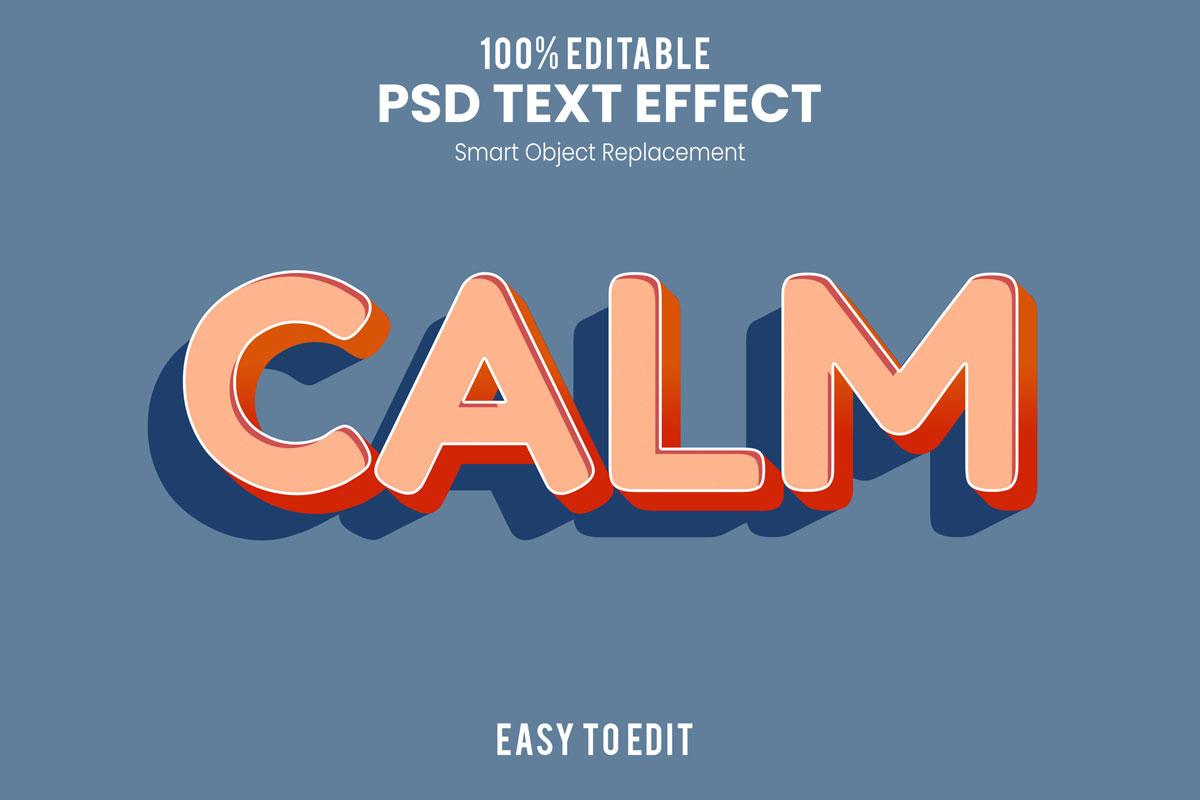 [单独购买] 80款炫彩3D立体海报标题Logo特效字体设计PS样机素材 30 Text Effect Bundle插图16