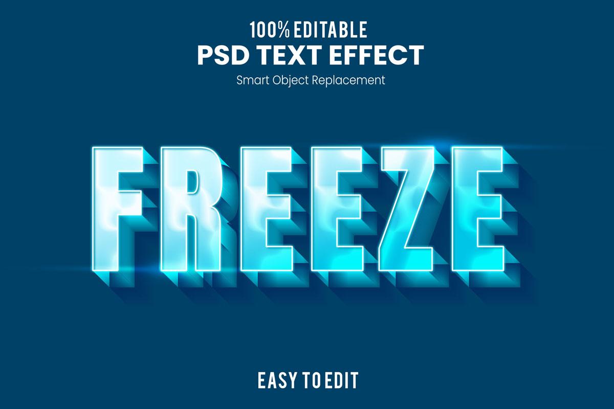 [单独购买] 80款炫彩3D立体海报标题Logo特效字体设计PS样机素材 30 Text Effect Bundle插图23