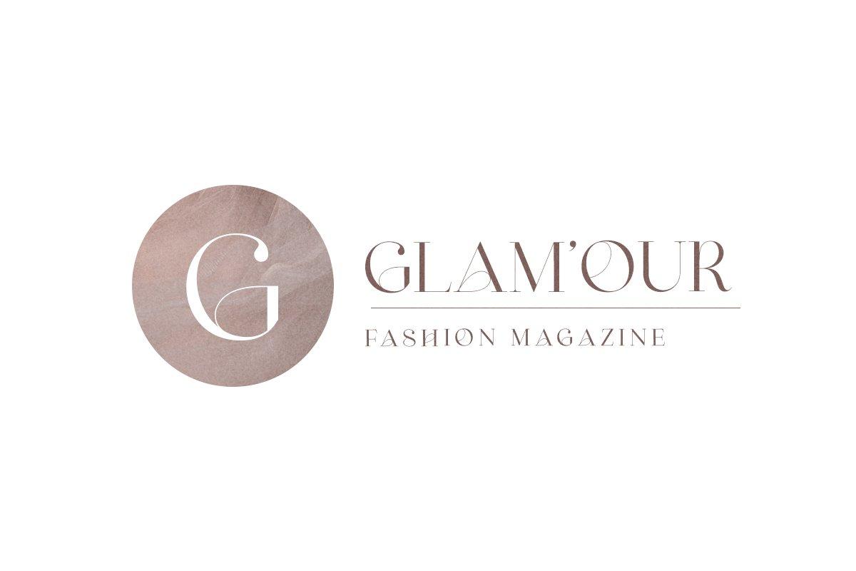 [单独购买] 优雅轻奢女性时尚品牌Logo海报杂志英文字体设计素材 Shaping Heart – Lovely Serif插图7