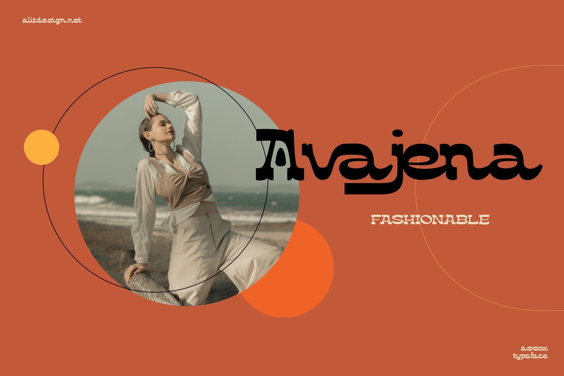 [单独购买] 潮流复古酸性逆反差海报标题Logo设计衬线英文字体素材 Assox Typeface插图9