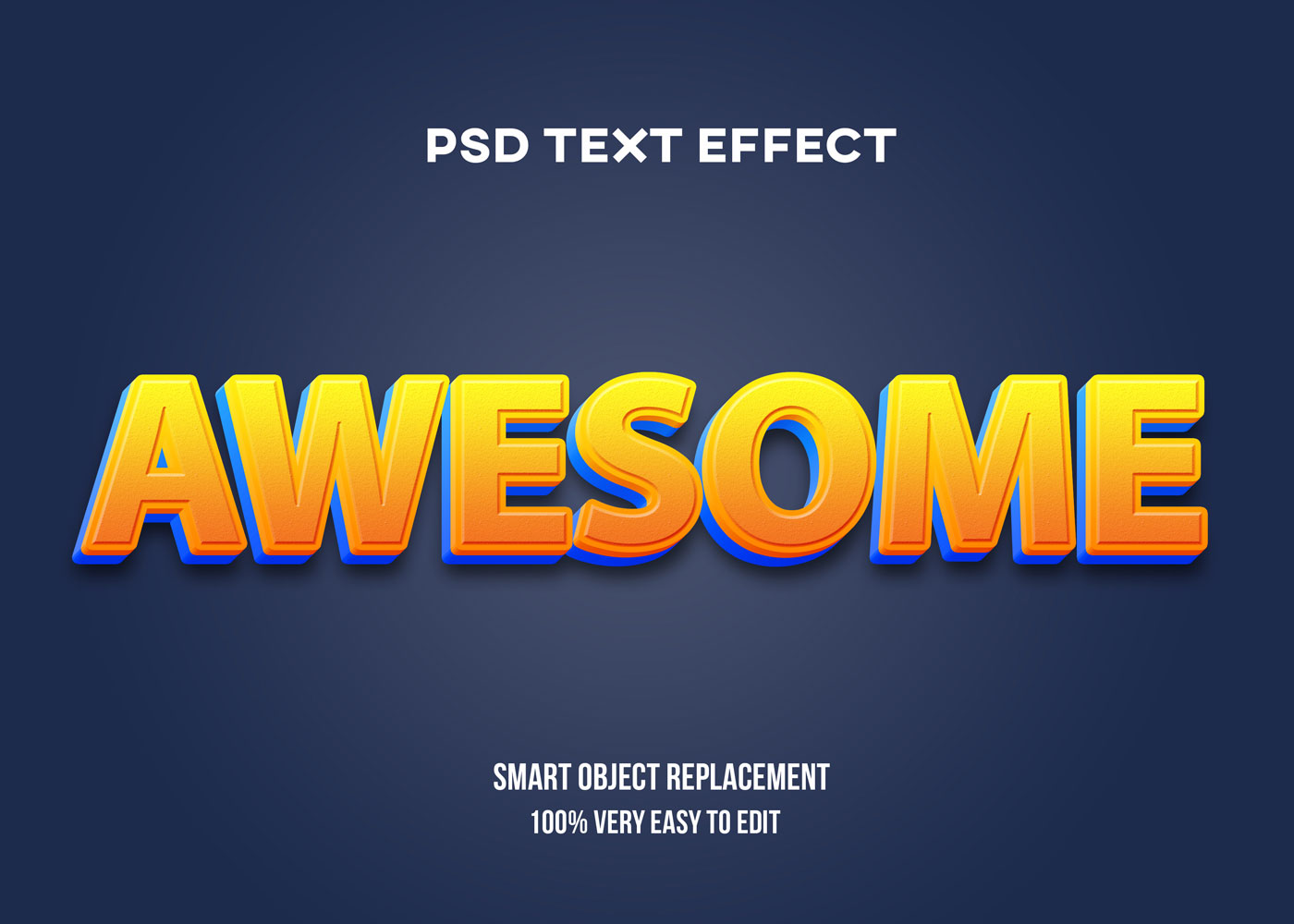 [单独购买] 80款炫彩3D立体海报标题Logo特效字体设计PS样机素材 30 Text Effect Bundle插图3
