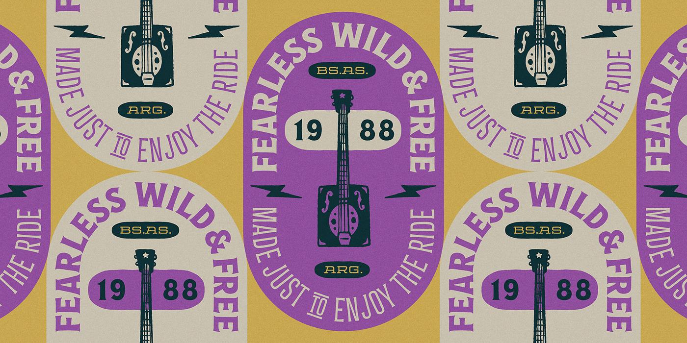 时尚复古海报标题徽标Logo设计英文字体下载 Espiritu Font Family插图14