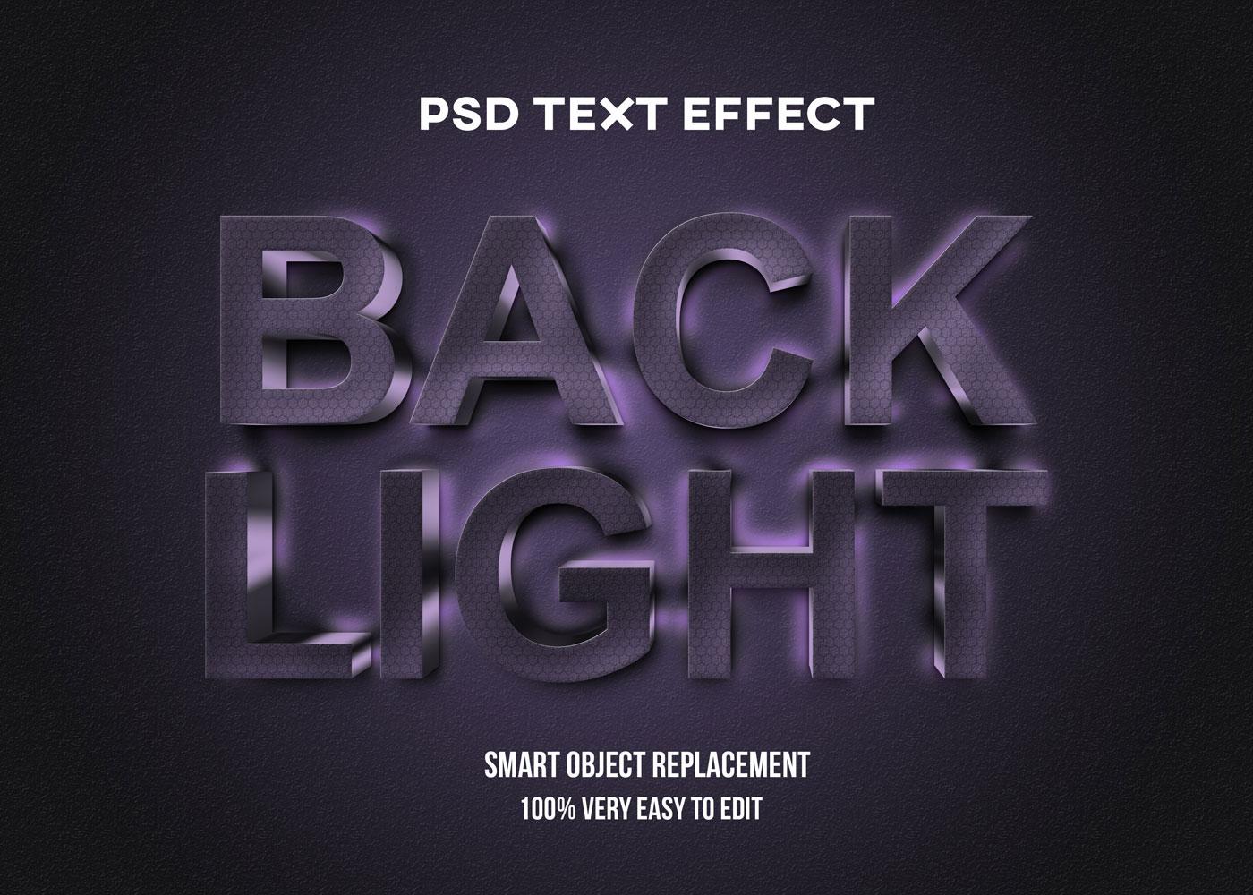 [单独购买] 80款炫彩3D立体海报标题Logo特效字体设计PS样机素材 30 Text Effect Bundle插图4