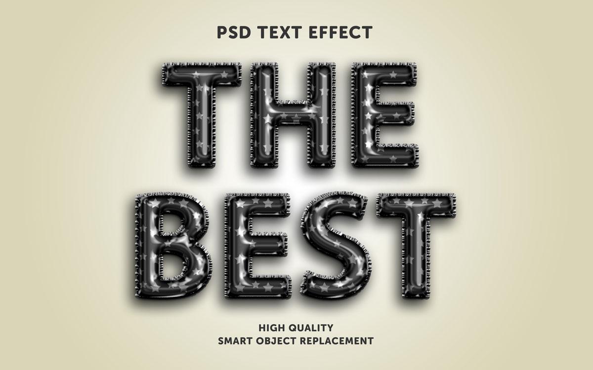 [单独购买] 80款炫彩3D立体海报标题Logo特效字体设计PS样机素材 30 Text Effect Bundle插图5
