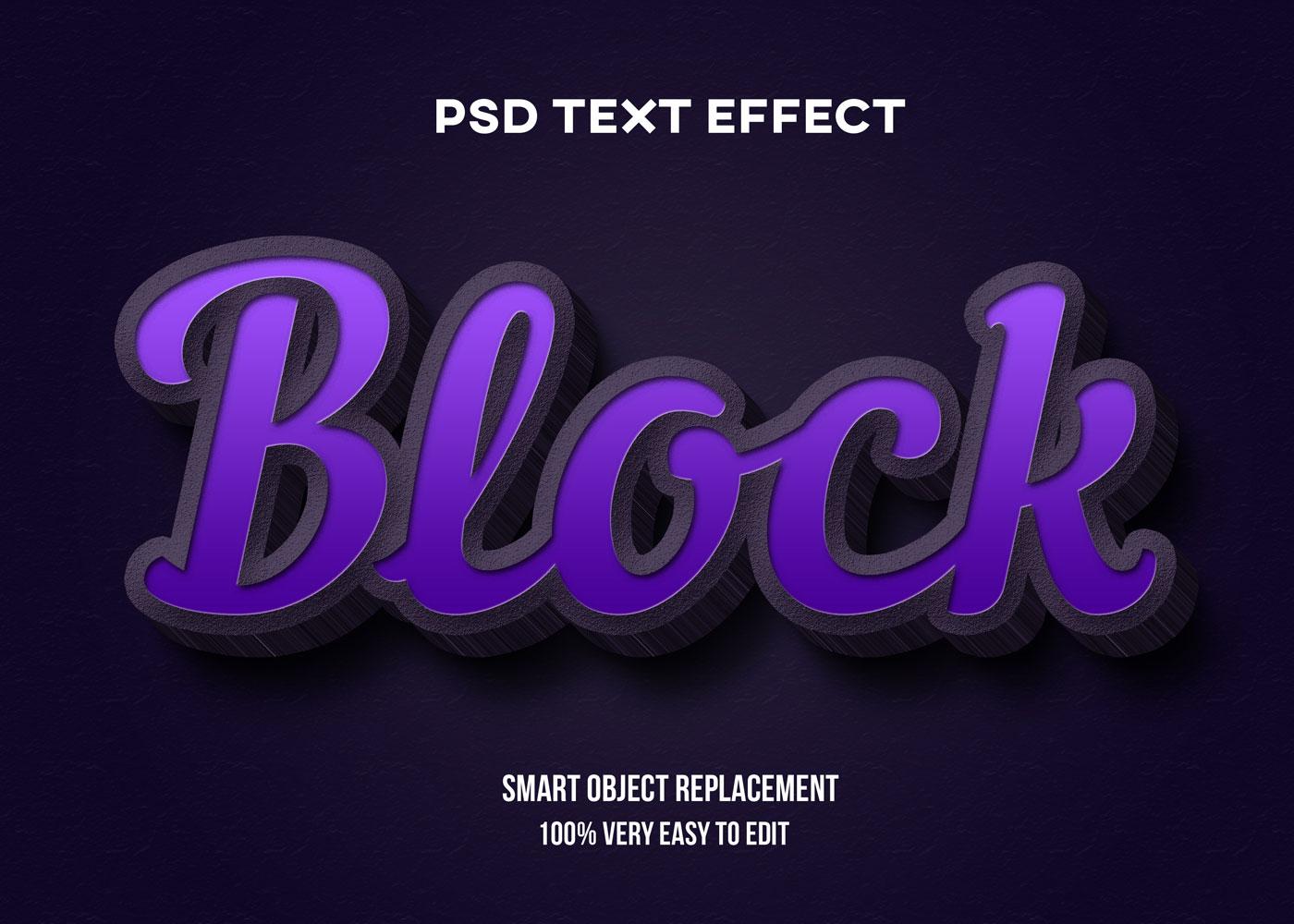 [单独购买] 80款炫彩3D立体海报标题Logo特效字体设计PS样机素材 30 Text Effect Bundle插图8