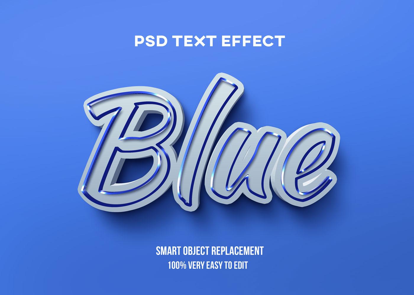 [单独购买] 80款炫彩3D立体海报标题Logo特效字体设计PS样机素材 30 Text Effect Bundle插图9