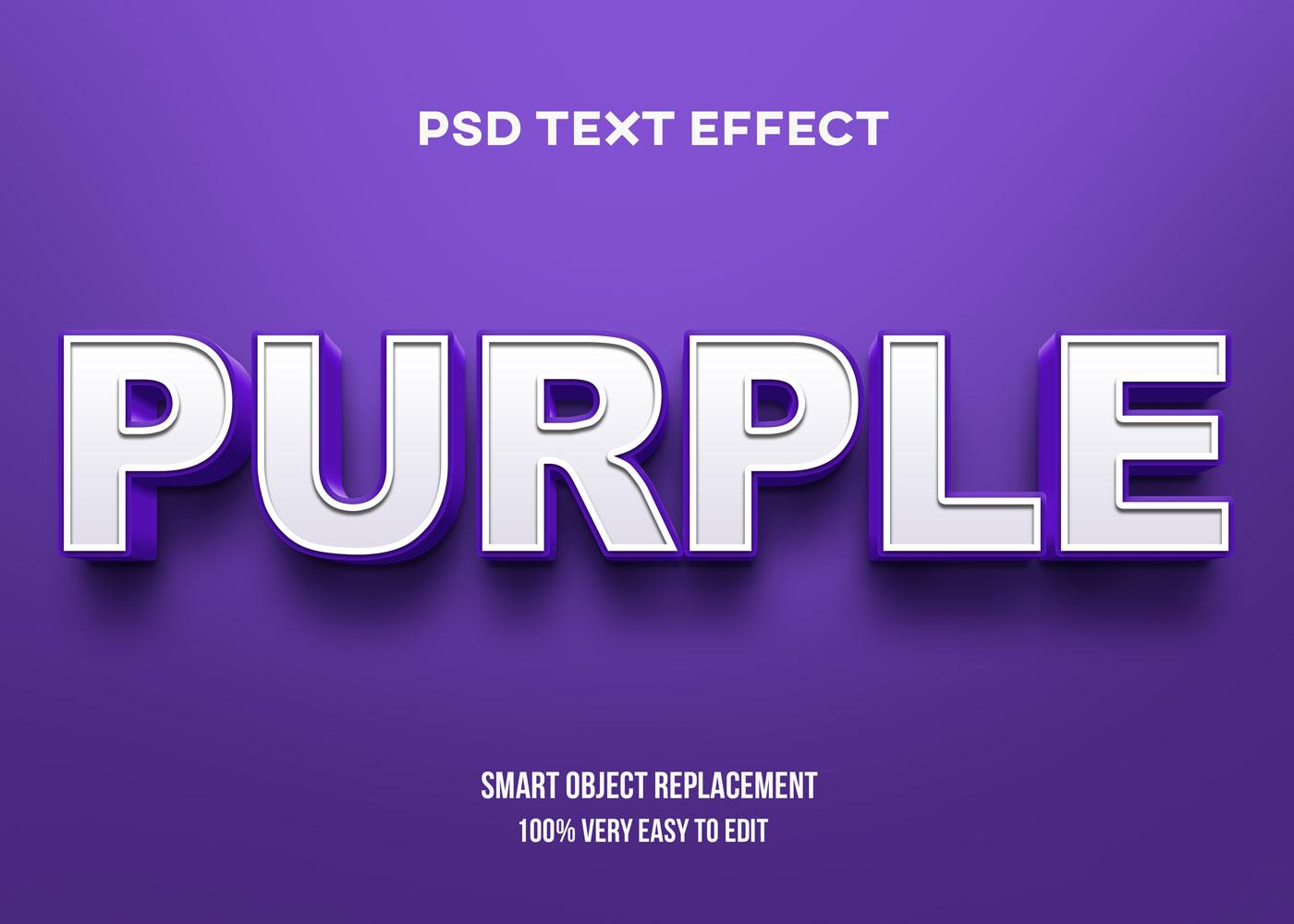 [单独购买] 80款炫彩3D立体海报标题Logo特效字体设计PS样机素材 30 Text Effect Bundle插图11