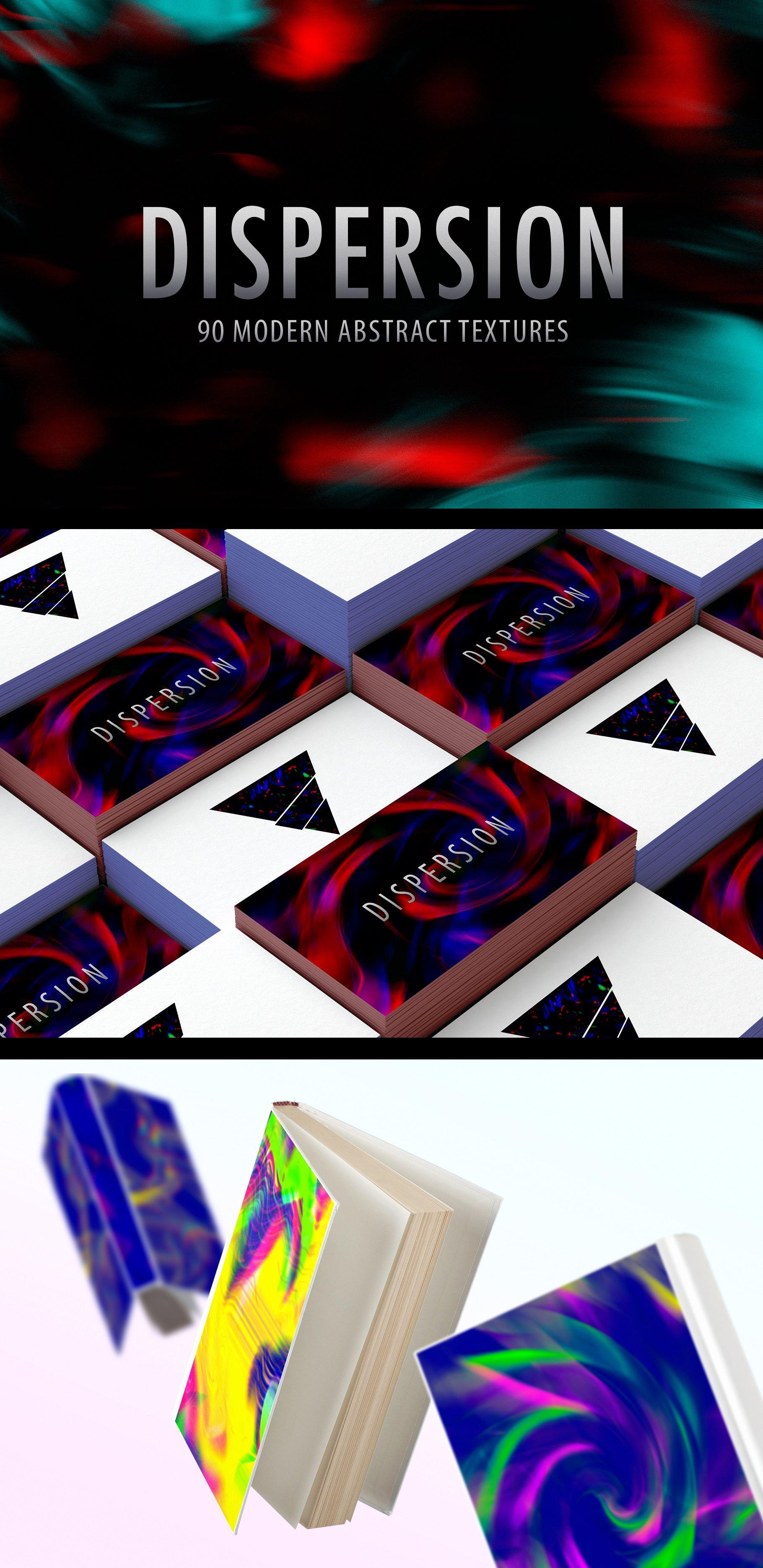[单独购买] 90款潮流抽象炫彩故障扭曲噪点颗粒纹理海报设计背景图片素材 Experimental Abstract Textures插图