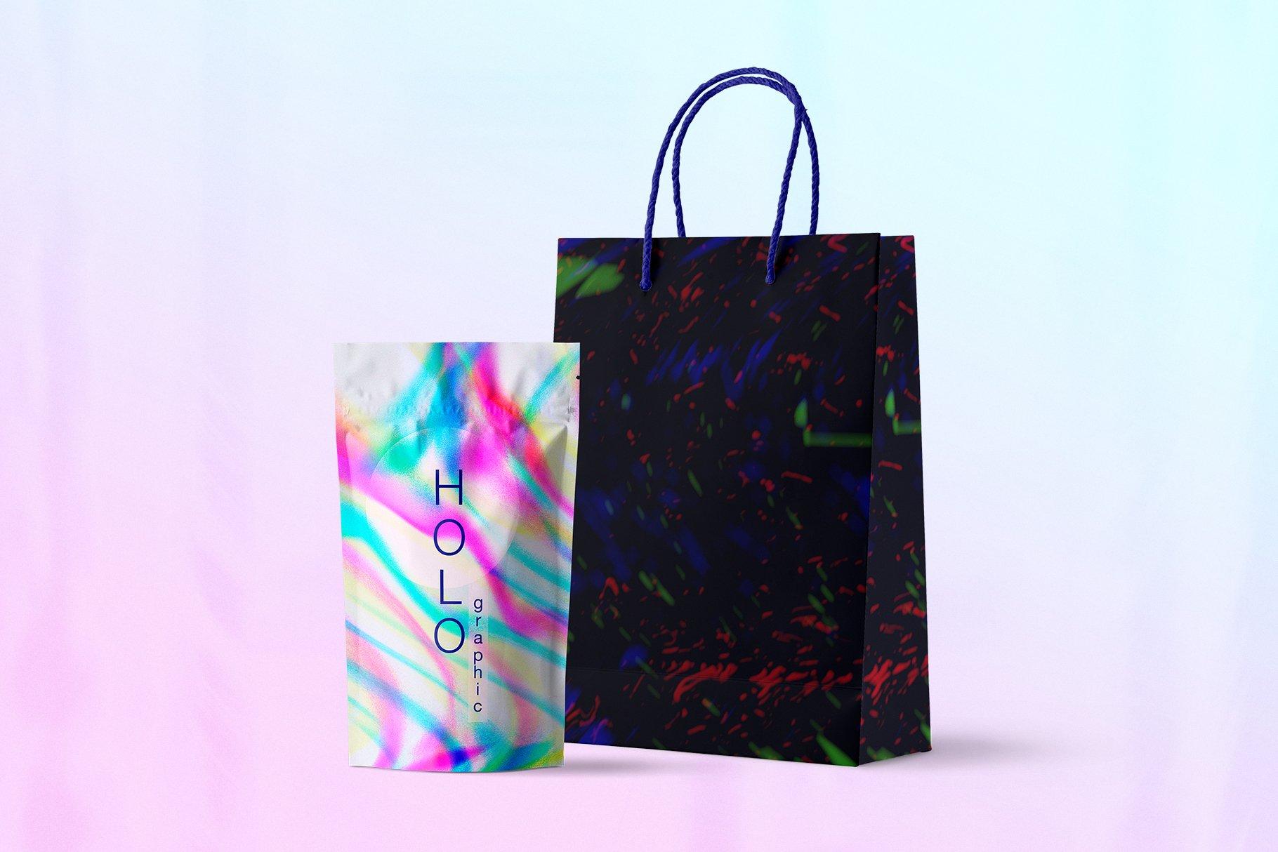 [单独购买] 90款潮流抽象炫彩故障扭曲噪点颗粒纹理海报设计背景图片素材 Experimental Abstract Textures插图9