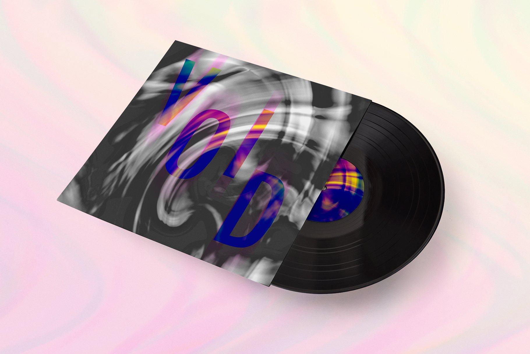[单独购买] 90款潮流抽象炫彩故障扭曲噪点颗粒纹理海报设计背景图片素材 Experimental Abstract Textures插图3