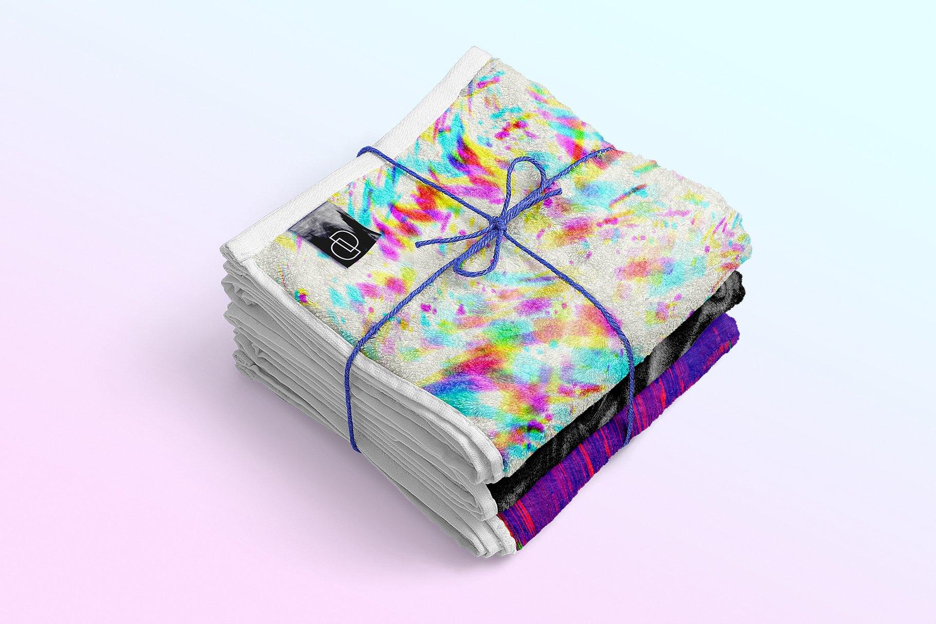 [单独购买] 90款潮流抽象炫彩故障扭曲噪点颗粒纹理海报设计背景图片素材 Experimental Abstract Textures插图5