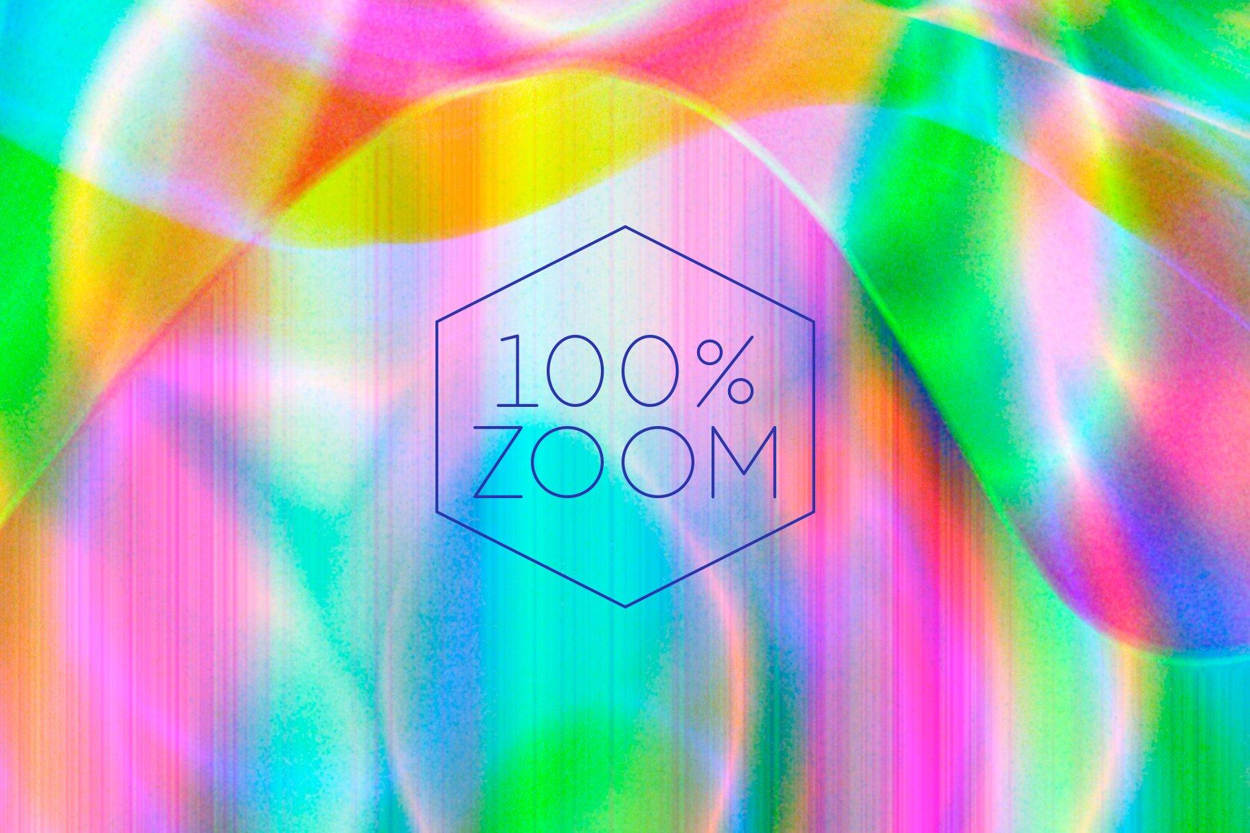 [单独购买] 90款潮流抽象炫彩故障扭曲噪点颗粒纹理海报设计背景图片素材 Experimental Abstract Textures插图6