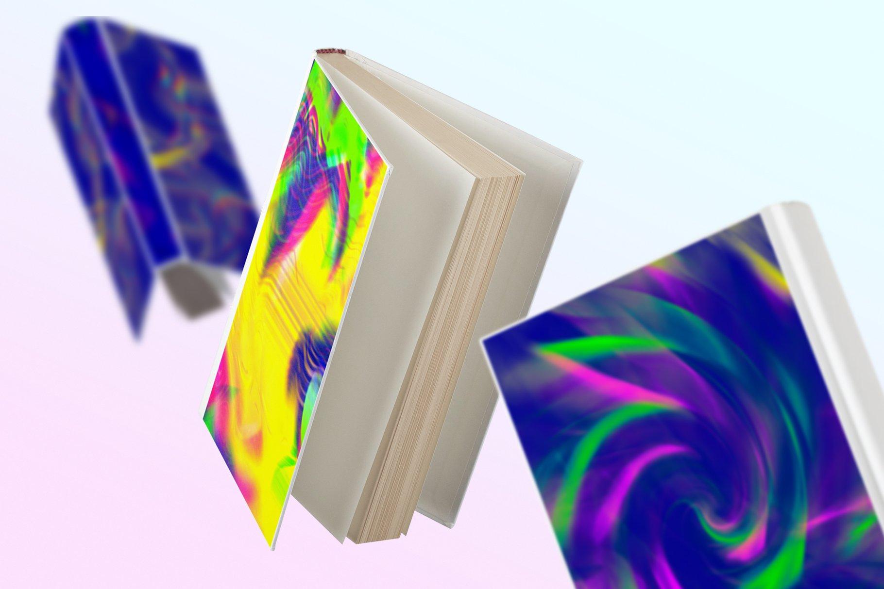 [单独购买] 90款潮流抽象炫彩故障扭曲噪点颗粒纹理海报设计背景图片素材 Experimental Abstract Textures插图7