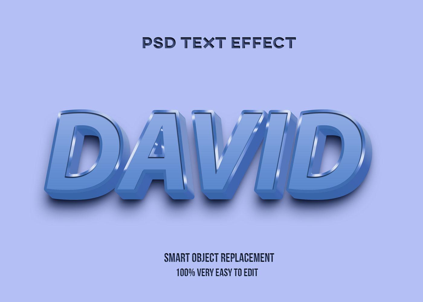 [单独购买] 80款炫彩3D立体海报标题Logo特效字体设计PS样机素材 30 Text Effect Bundle插图19