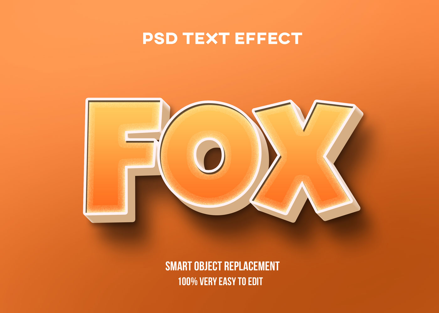 [单独购买] 80款炫彩3D立体海报标题Logo特效字体设计PS样机素材 30 Text Effect Bundle插图21