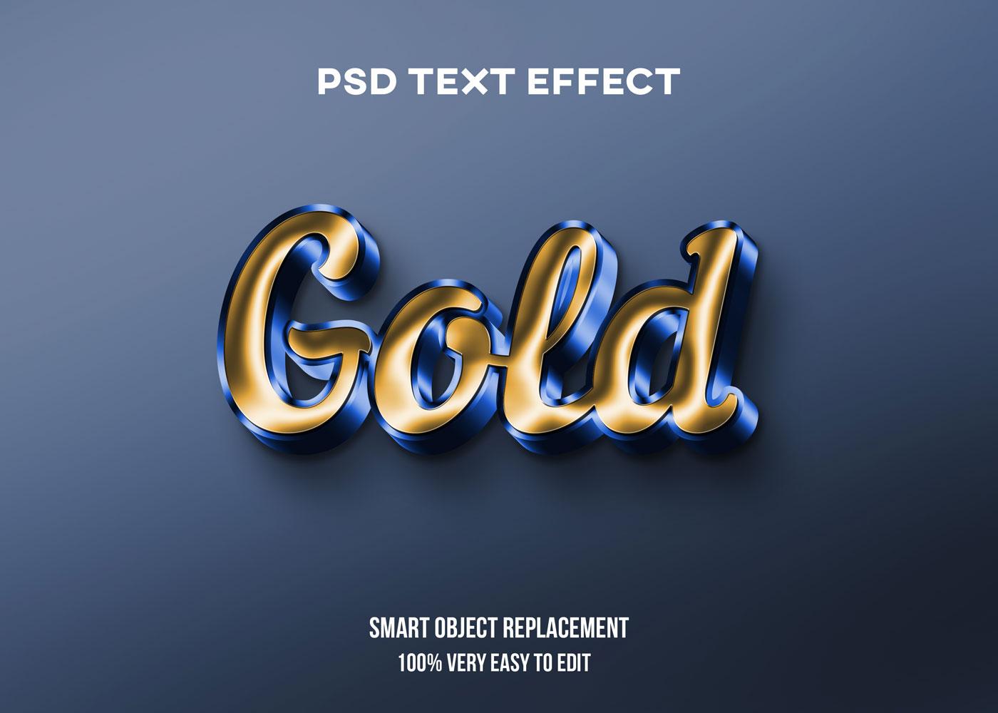 [单独购买] 80款炫彩3D立体海报标题Logo特效字体设计PS样机素材 30 Text Effect Bundle插图27