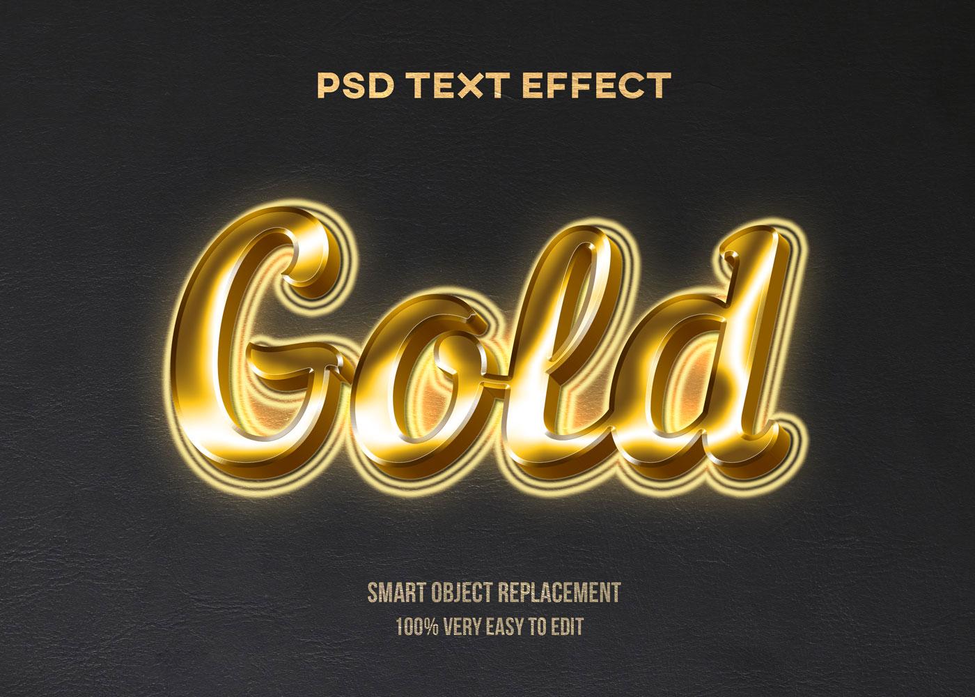 [单独购买] 80款炫彩3D立体海报标题Logo特效字体设计PS样机素材 30 Text Effect Bundle插图29