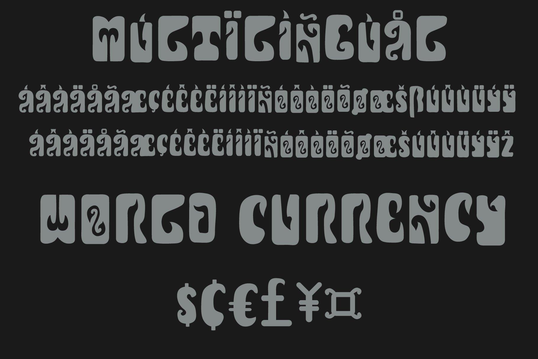 印度尼西亚风品牌徽标Logo海报标题设计手绘英文字体素材 Javanesia Font插图7
