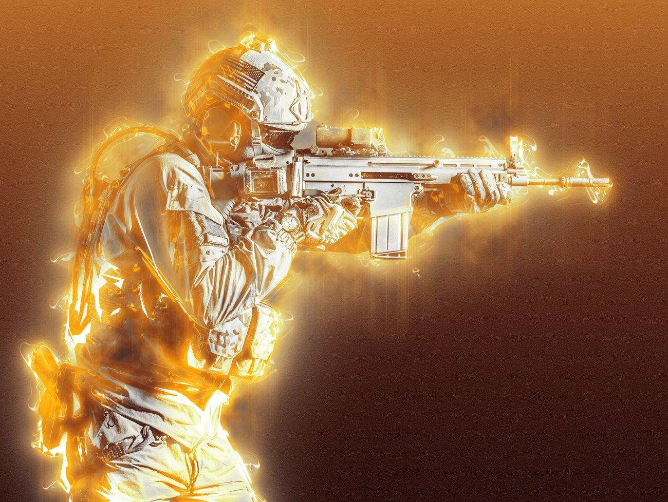 超炫能力发光效果照片处理特效PS动作素材 Light Photoshop Action插图5