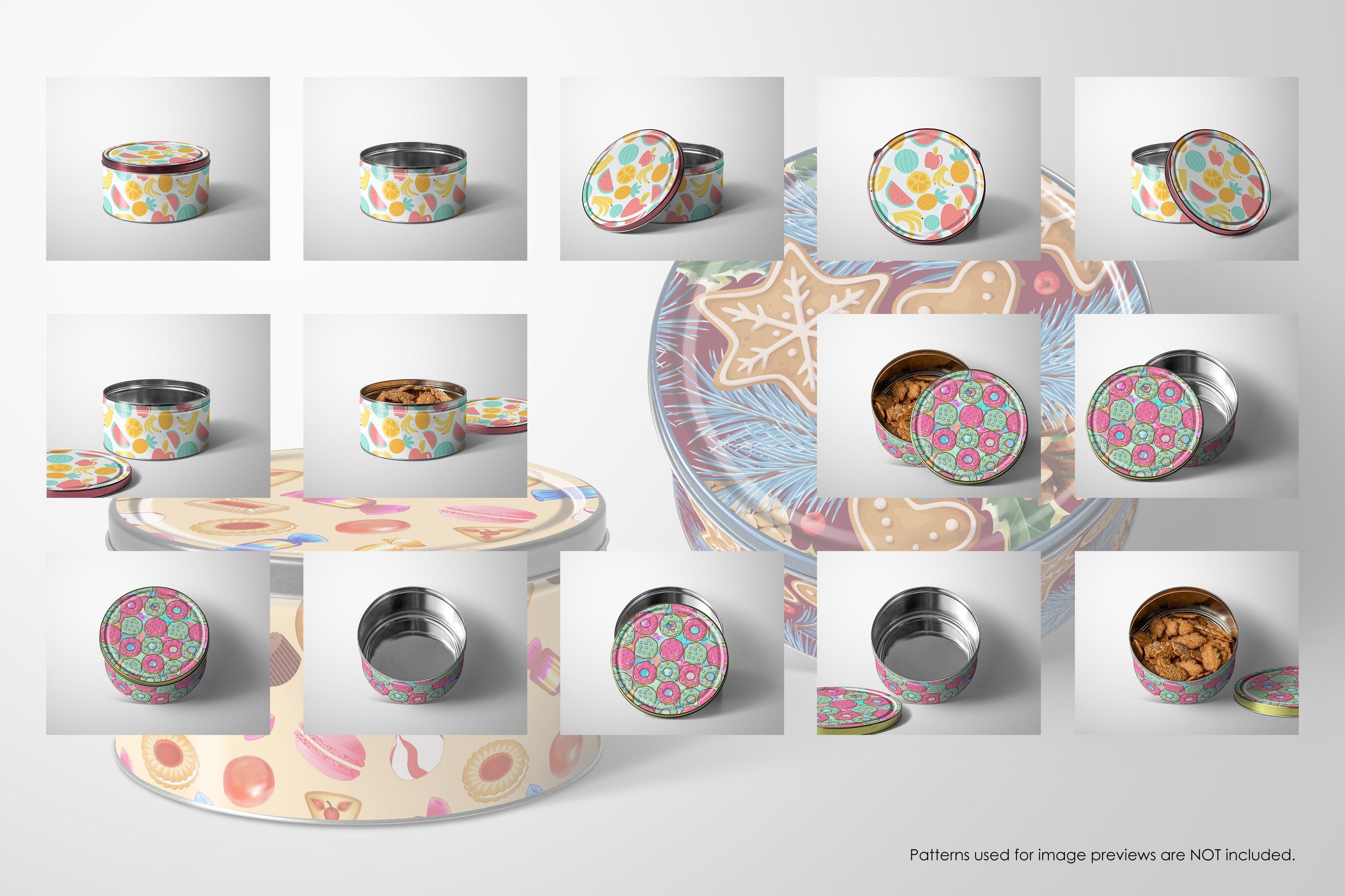 6K高清产品金属贴合外观设计展示样机 Metal Box Mockup 6K插图1