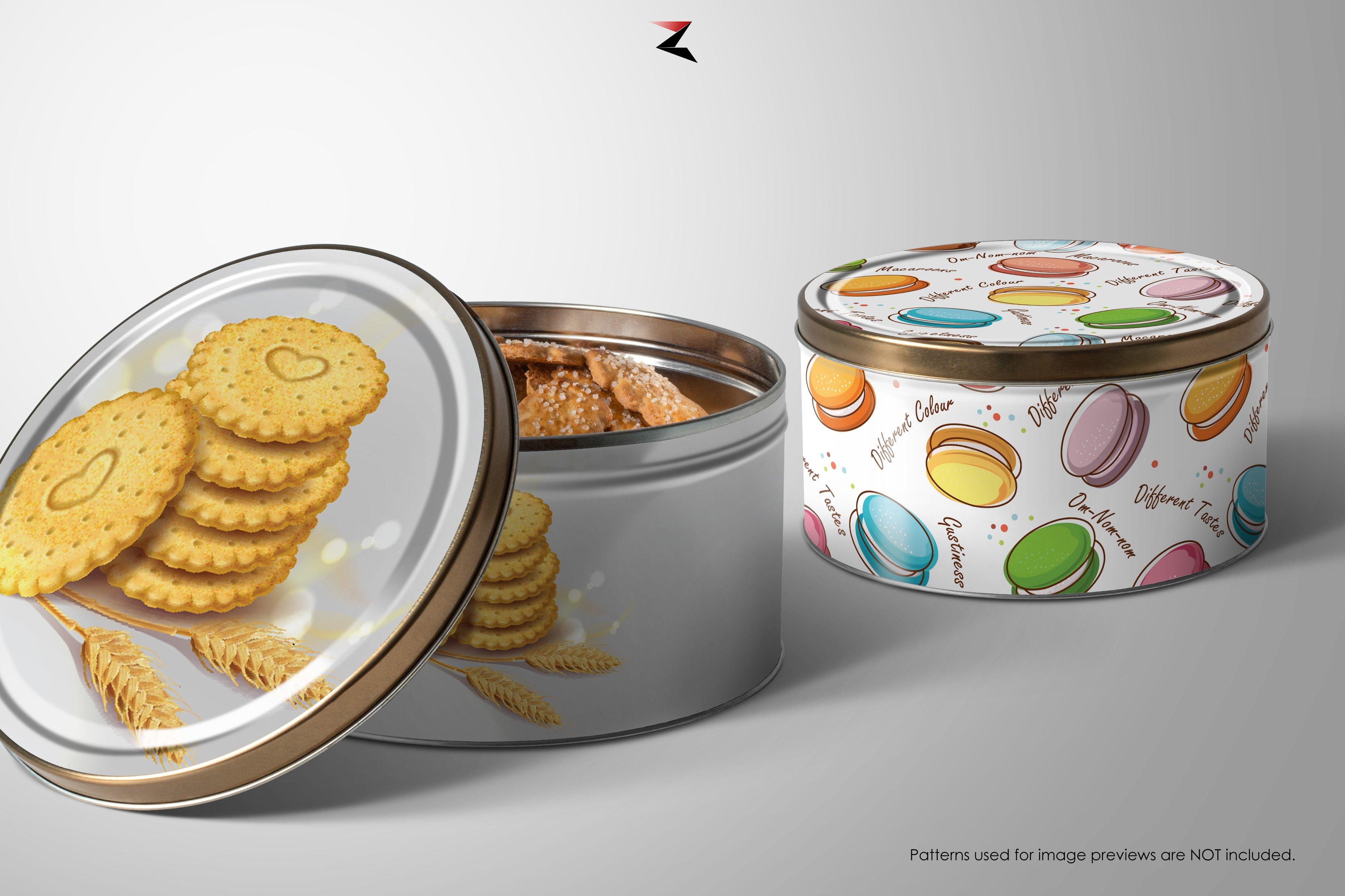 6K高清产品金属贴合外观设计展示样机 Metal Box Mockup 6K插图5
