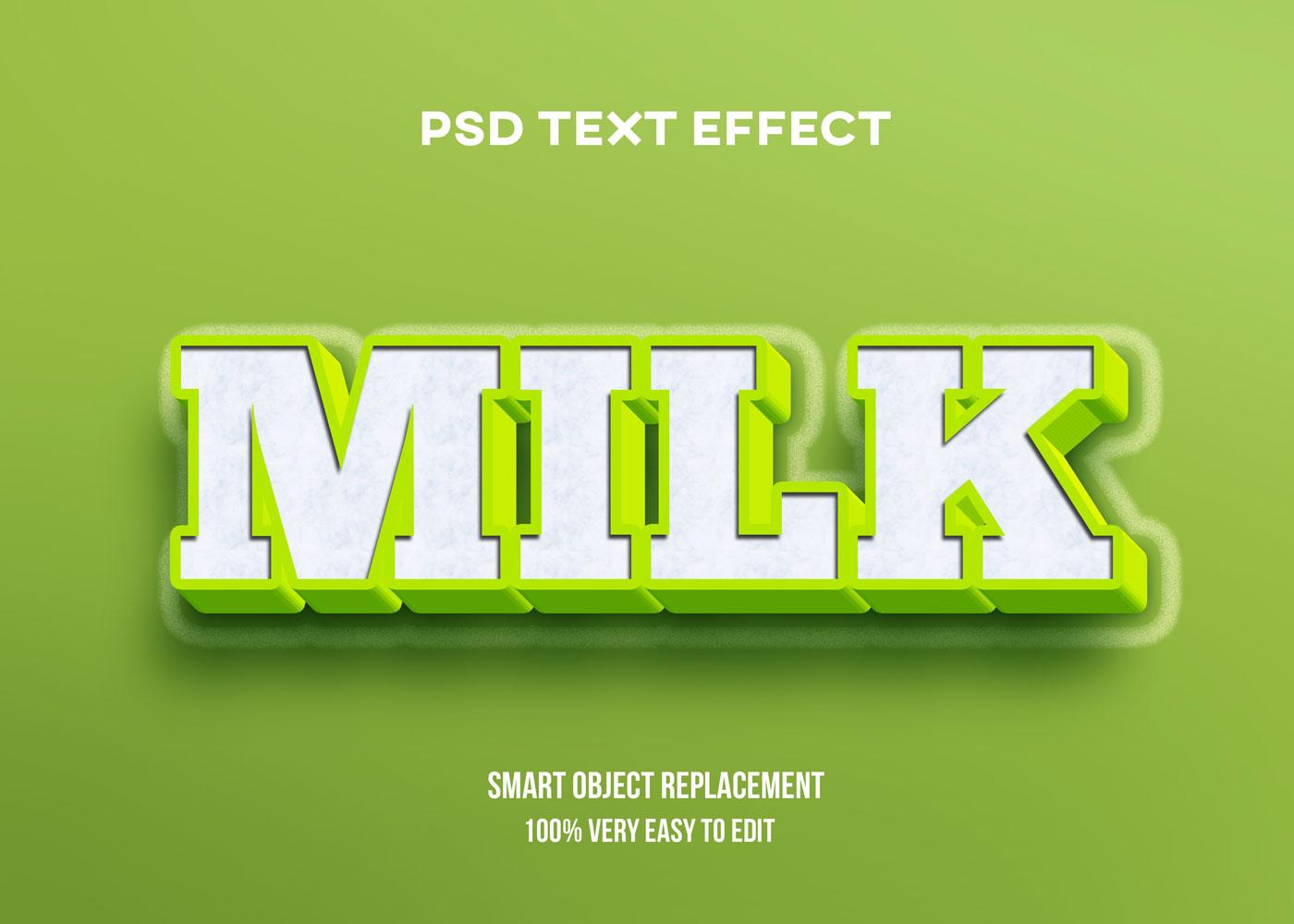 [单独购买] 80款炫彩3D立体海报标题Logo特效字体设计PS样机素材 30 Text Effect Bundle插图46