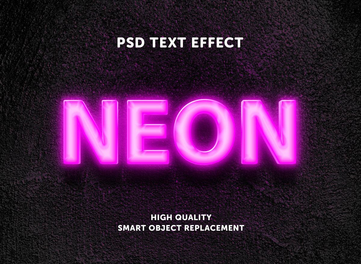 [单独购买] 80款炫彩3D立体海报标题Logo特效字体设计PS样机素材 30 Text Effect Bundle插图47