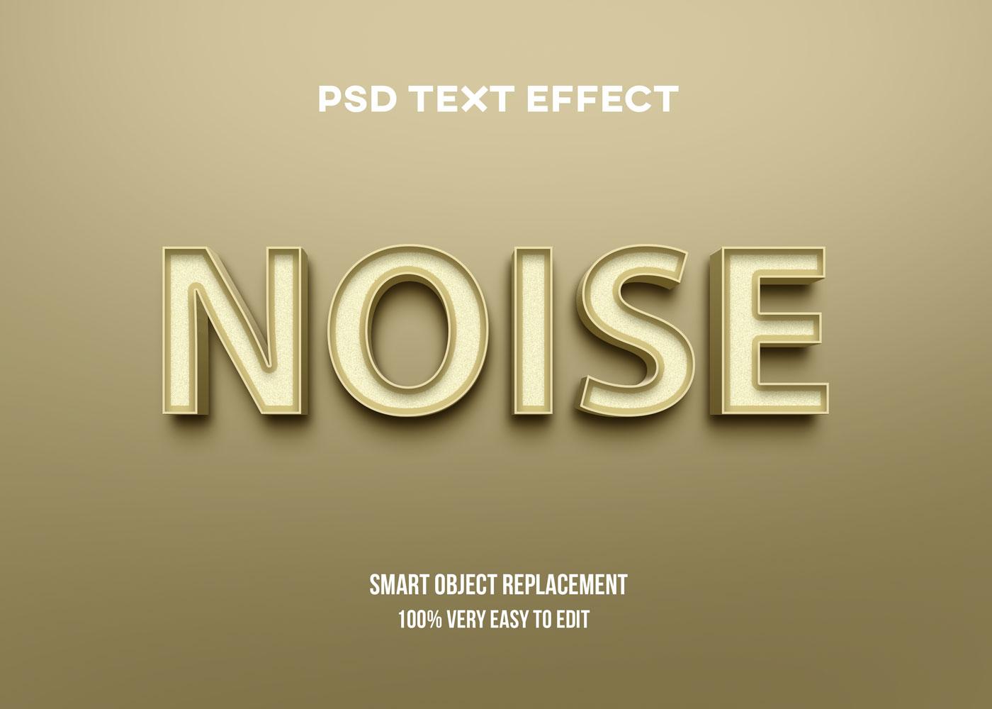 [单独购买] 80款炫彩3D立体海报标题Logo特效字体设计PS样机素材 30 Text Effect Bundle插图49