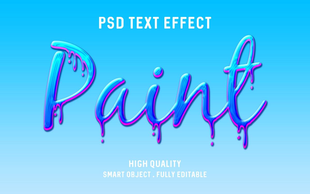 [单独购买] 80款炫彩3D立体海报标题Logo特效字体设计PS样机素材 30 Text Effect Bundle插图51