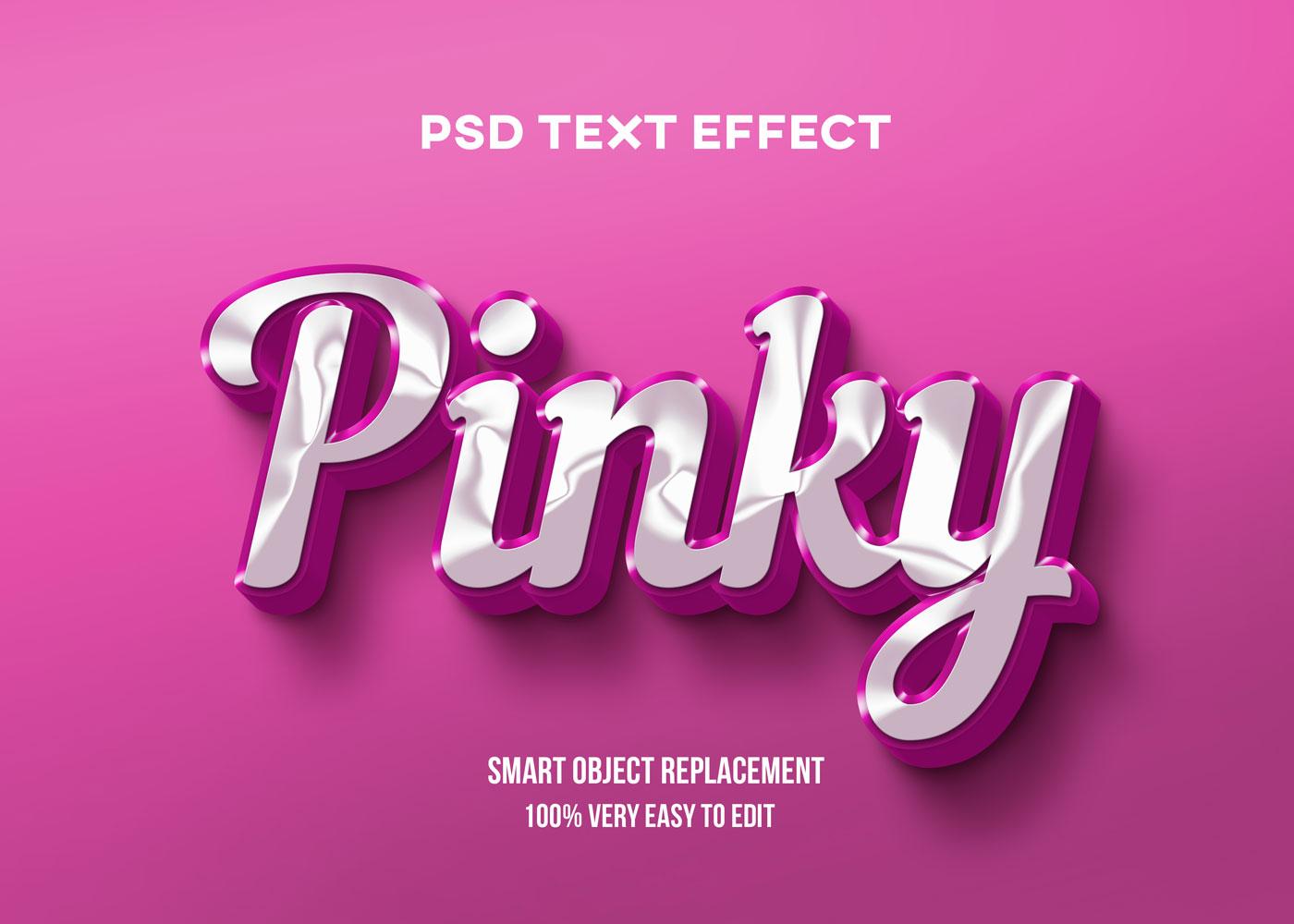 [单独购买] 80款炫彩3D立体海报标题Logo特效字体设计PS样机素材 30 Text Effect Bundle插图55