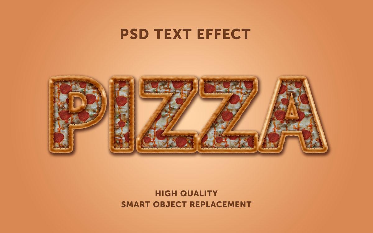 [单独购买] 80款炫彩3D立体海报标题Logo特效字体设计PS样机素材 30 Text Effect Bundle插图56