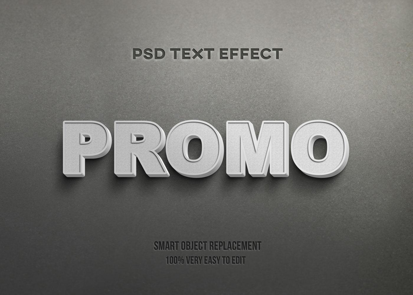 [单独购买] 80款炫彩3D立体海报标题Logo特效字体设计PS样机素材 30 Text Effect Bundle插图58