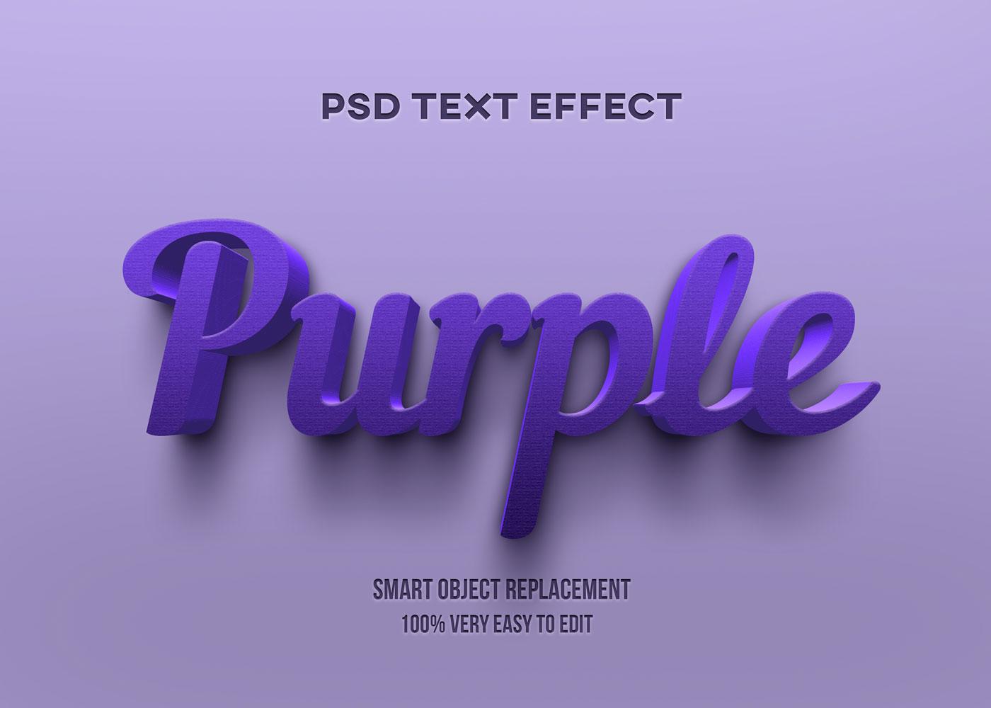 [单独购买] 80款炫彩3D立体海报标题Logo特效字体设计PS样机素材 30 Text Effect Bundle插图59