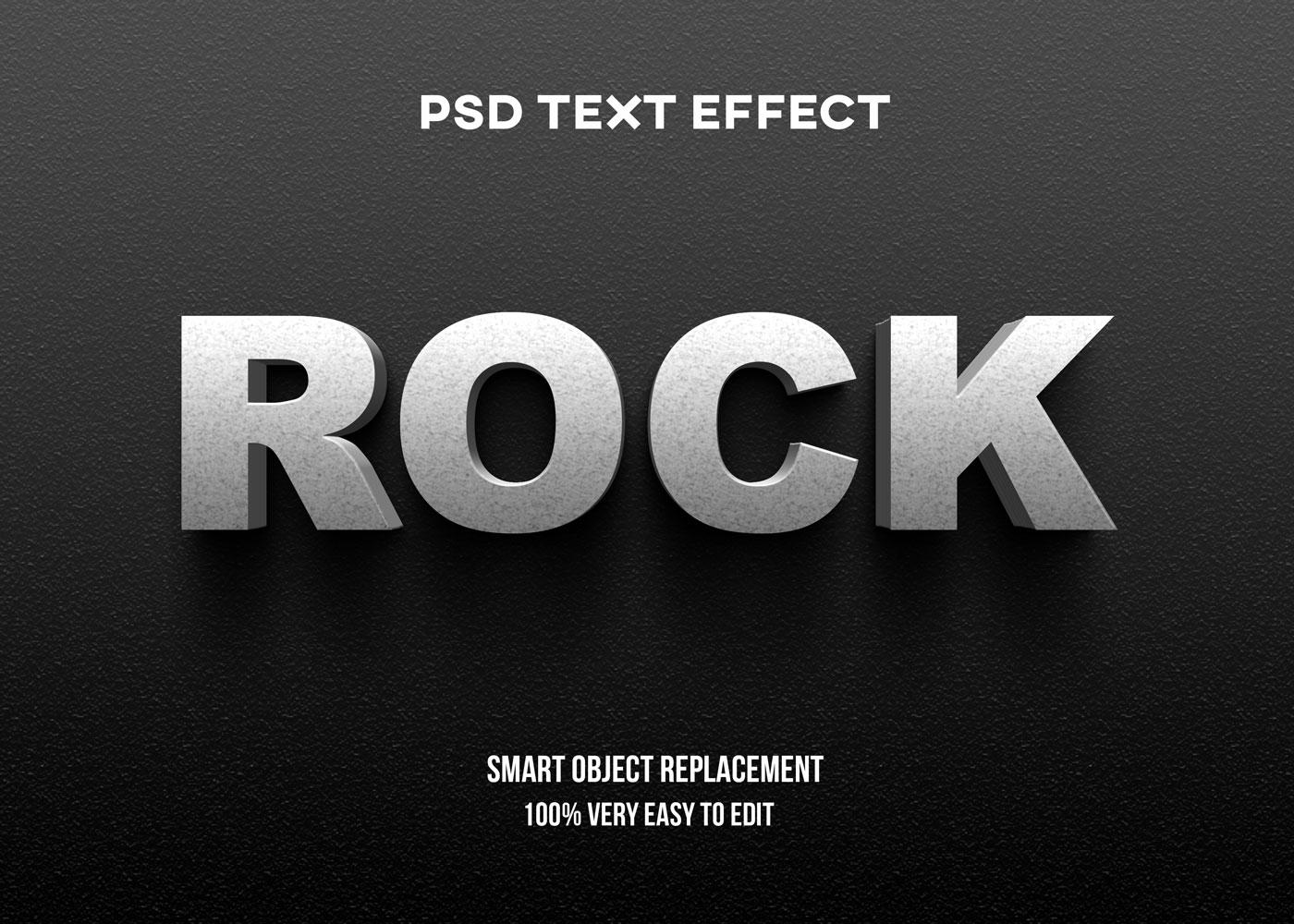 [单独购买] 80款炫彩3D立体海报标题Logo特效字体设计PS样机素材 30 Text Effect Bundle插图60
