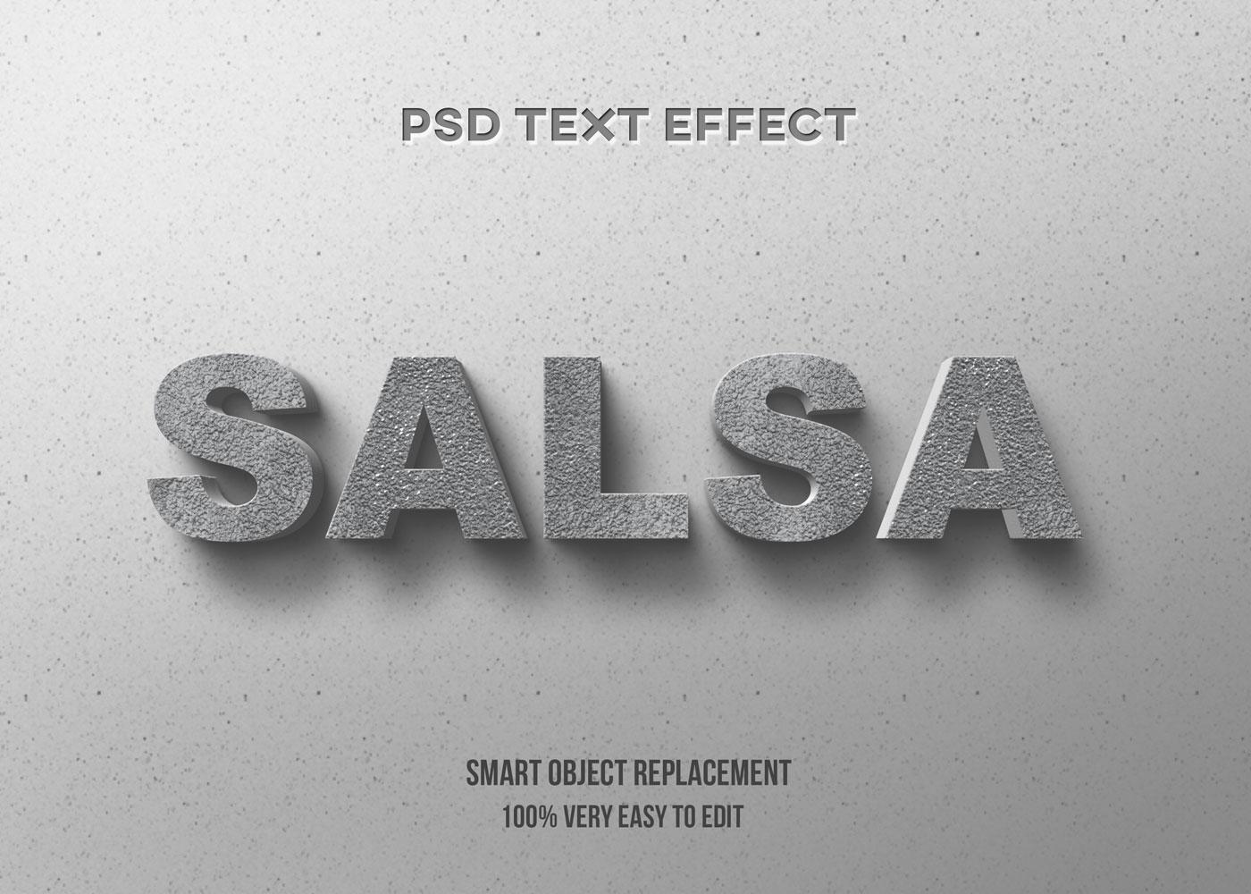 [单独购买] 80款炫彩3D立体海报标题Logo特效字体设计PS样机素材 30 Text Effect Bundle插图62