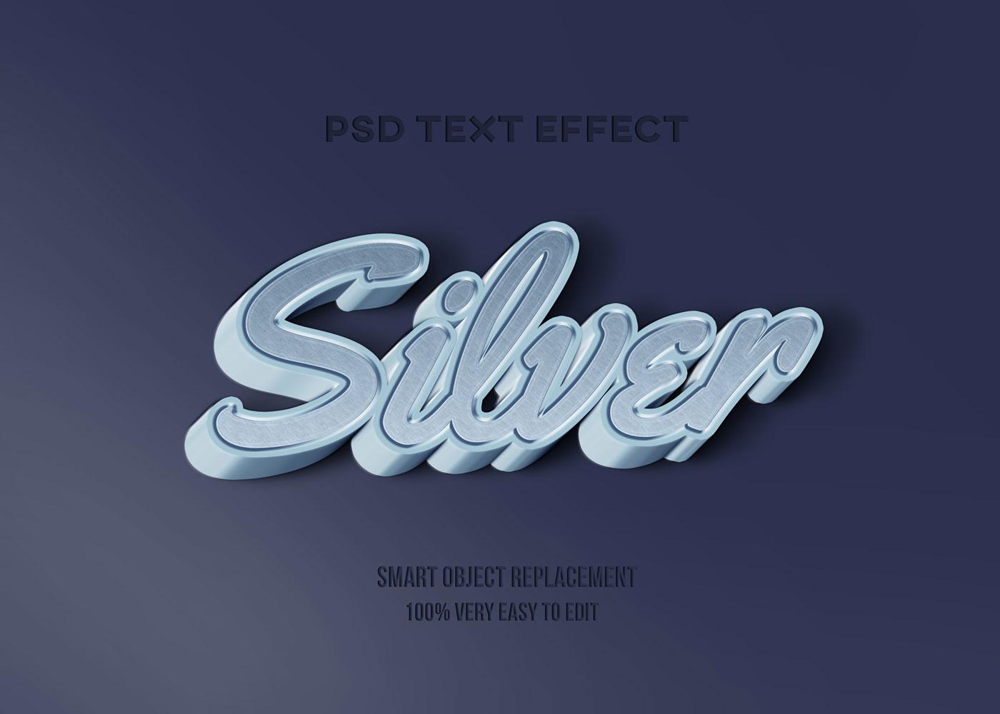 [单独购买] 80款炫彩3D立体海报标题Logo特效字体设计PS样机素材 30 Text Effect Bundle插图66