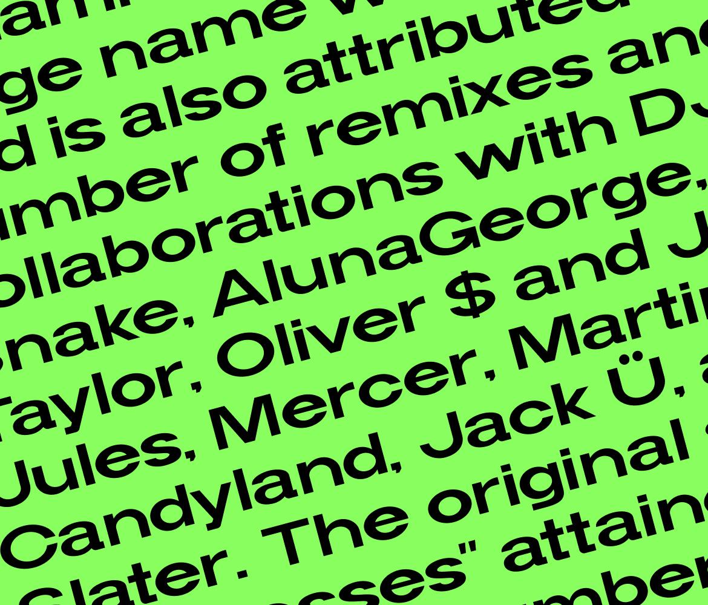 现代简约海报标题品牌logo设计无衬线英文字体素材 Widy Font Family插图9