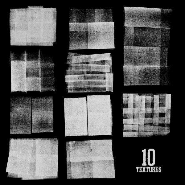 [单独购买] 潮流10K高清粗糙墨水丝印纹理海报设计PNG透明背景图片素材 Blkmarket – Silkscreen插图12