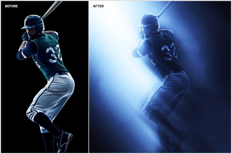 创意光影效果照片处理特效PS动作模版 Shadow & Light Photoshop Action插图10