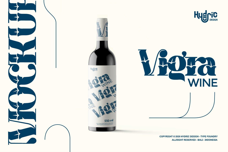 优雅海报标题徽标Logo设计花卉装饰英文字体下载 Kyra Vaglo Font插图10