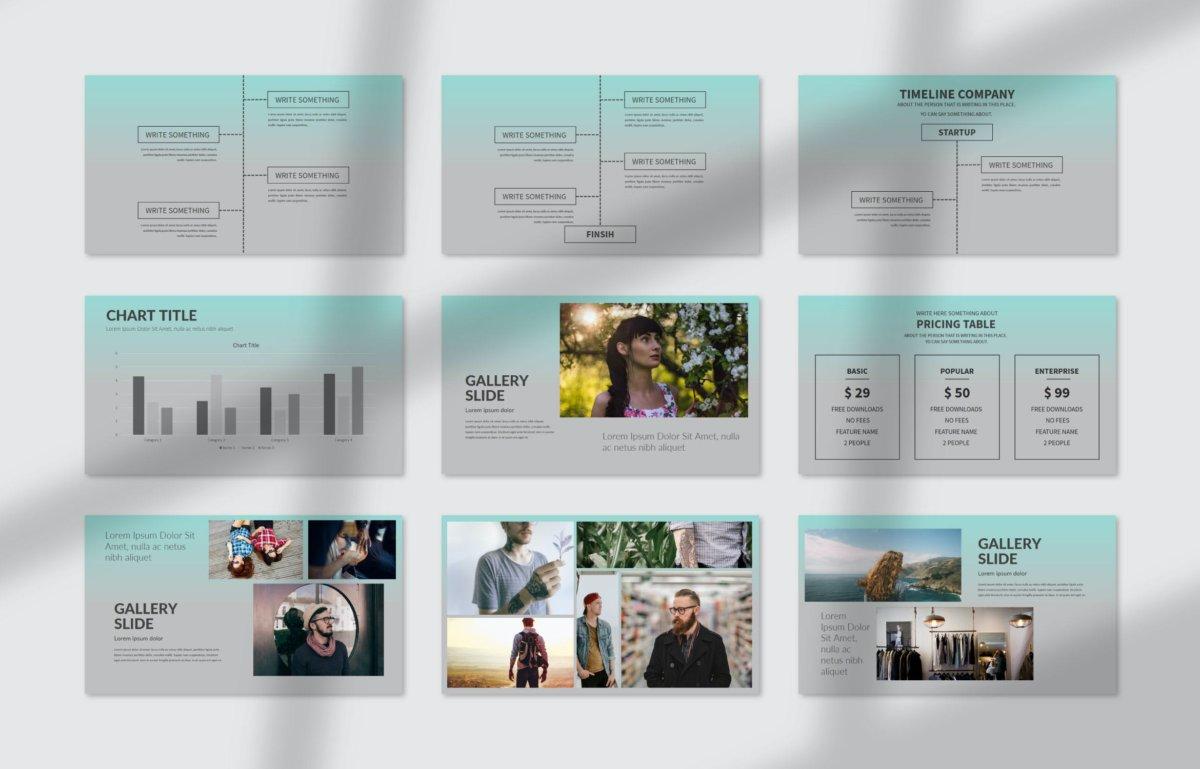 优雅简约商业介绍提案简报演示Keynote文稿 Codex Keynote – Business插图1