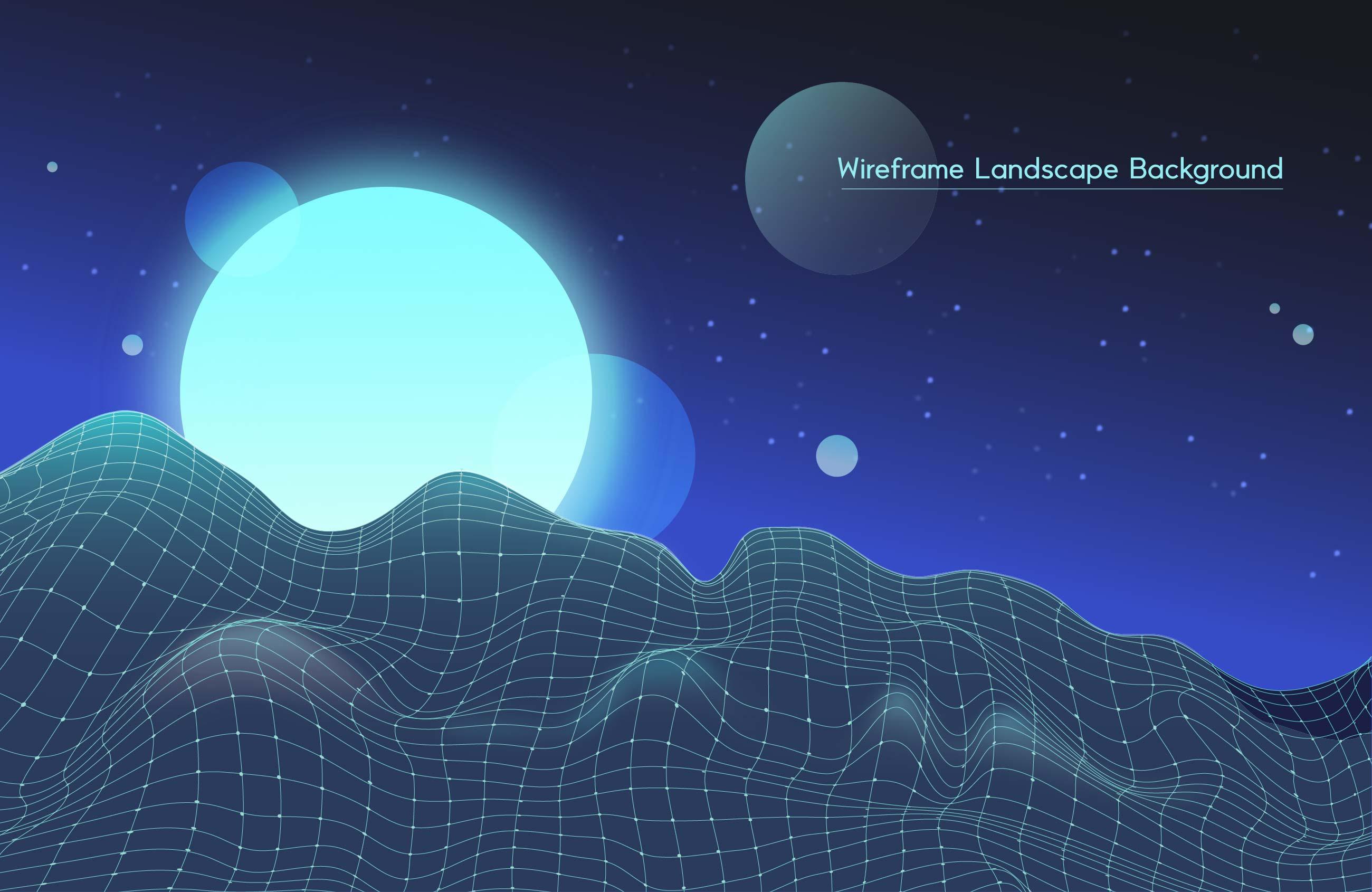 [单独购买] 9款未来科幻网络科技互联网大数据背景AI矢量素材 Big Data Vector Background插图4