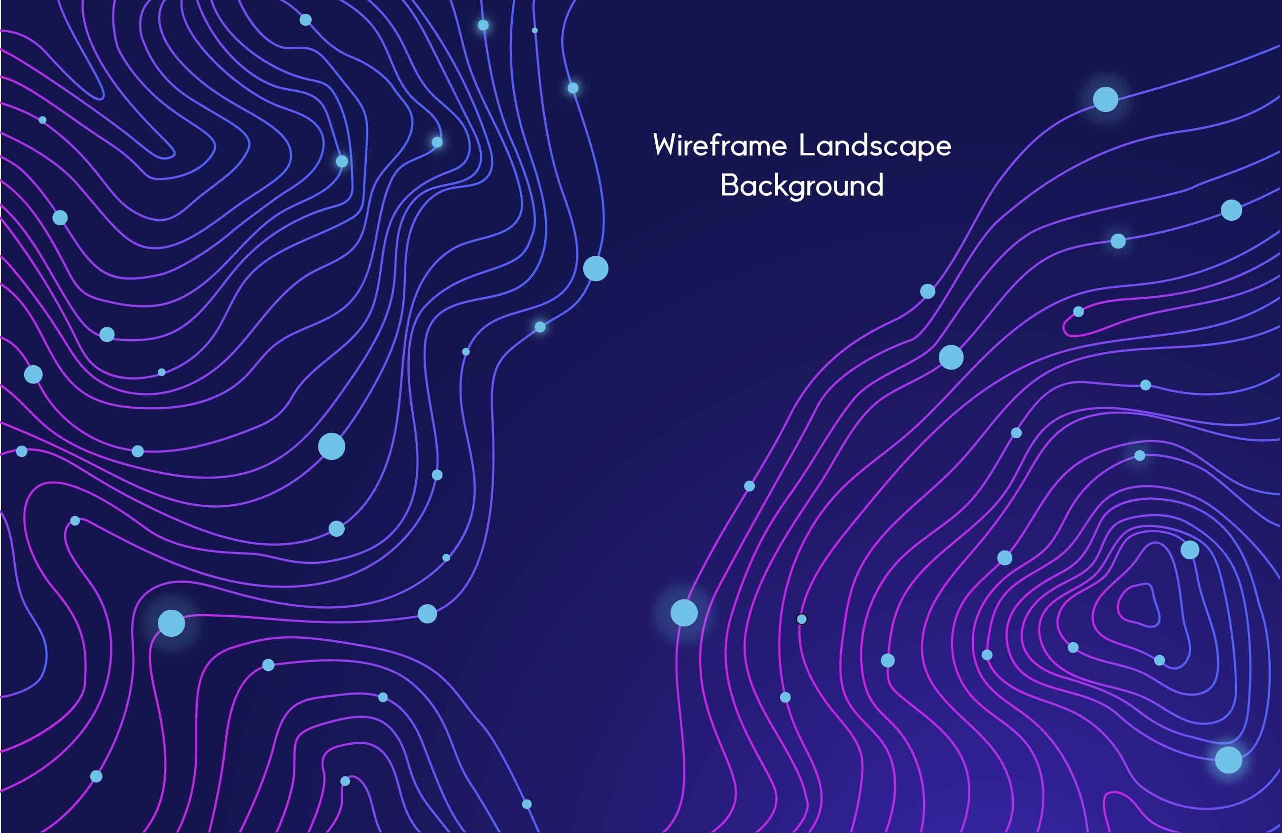 [单独购买] 9款未来科幻网络科技互联网大数据背景AI矢量素材 Big Data Vector Background插图8