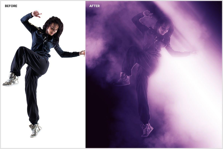 创意光影效果照片处理特效PS动作模版 Shadow & Light Photoshop Action插图3