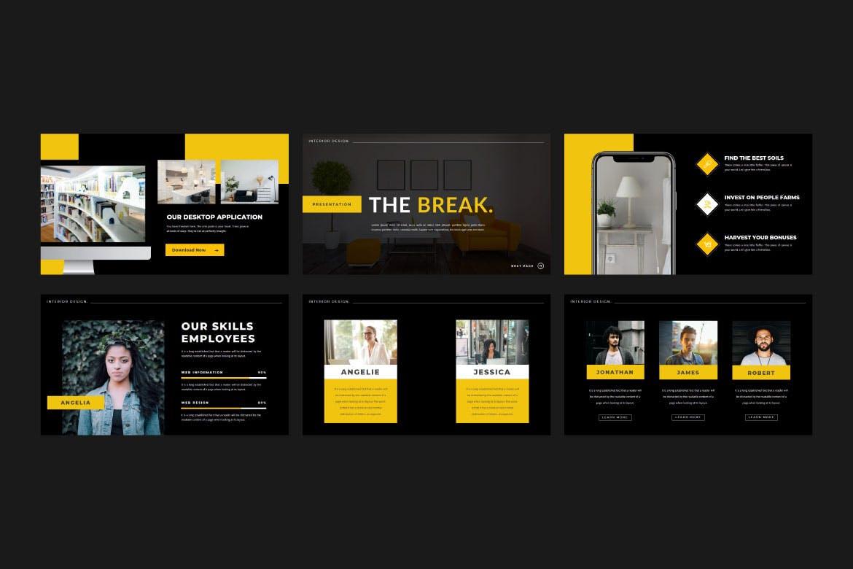 现代简约企业营销策划提案简报演示文稿设计模板 TheKraft – Keynote Presentation Templates插图3