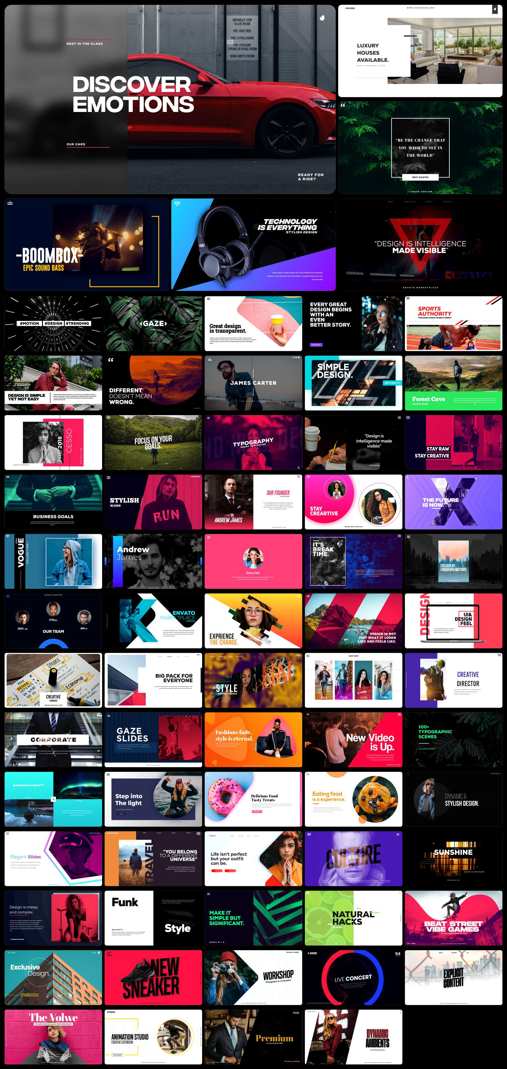 [单独购买] 4000多款创意文字标题排版字幕条Logo设计背景动画预设AE脚本 Graphics Pack // 4000+ Animation Pack插图4